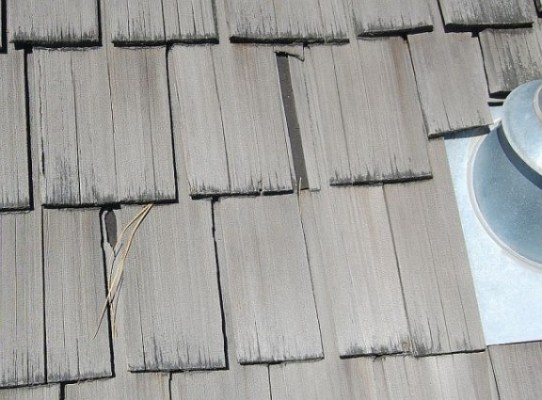 Kelowna Home Inspectors - Cedar shingle