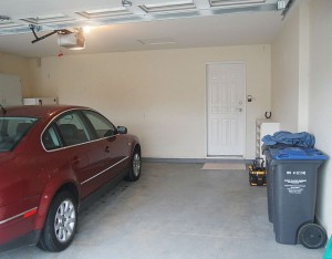 Kelowna Home Inspectors - car parked in garage