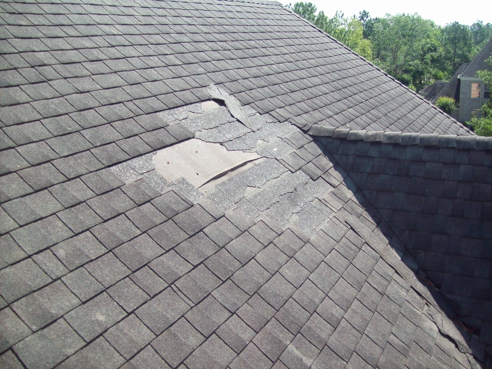 Roof Damage | Building Pro Home Inspection Kelowna